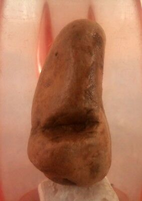 A personal figurine from the Paleolithic Stone Age. Suitable for palm rest.