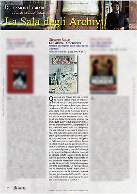 """LIBRO/SAGGIO STORICO """"La guerra dimenticata"""" 3"""