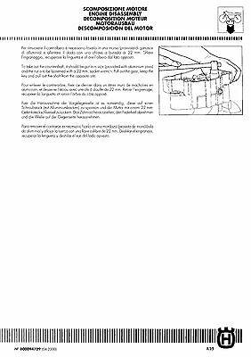 husqvarna sm 125 s digital workshop repair manual 2000 2003