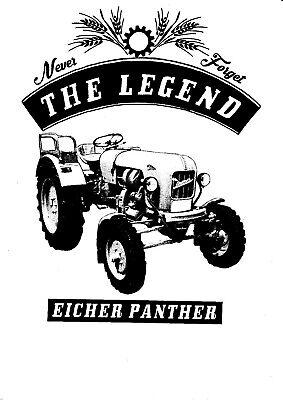 Eicher Tiger,Traktor,Schlepper,Bulldog,Oltimer T-Shirt