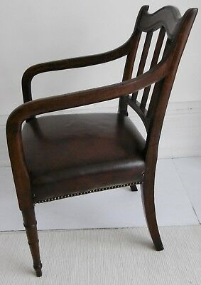 Regency period Mahogany Elbow Chair, circa 1810. 2