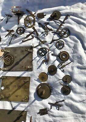 A Very Large Assortment Of Longcase Grandfather Clock Parts 4