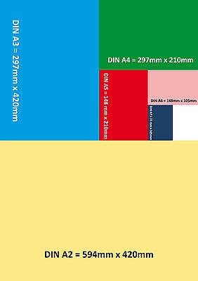 20x RECHNUNGSBLOCK Kleinunternehmer RECHNUNG  A6,SD 2x50 BLATT gelocht (22419) 3