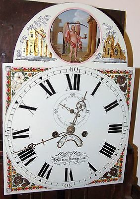 Antique ROCKING FATHER TIME Longcase Grandfather Clock : HAY WOLVERHAMPTON 6