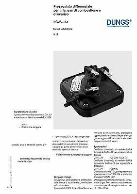 Pressostato Differenziale Aria-Gas  Lgw 3 A1.(Dungs) 3