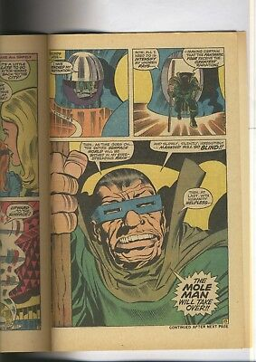Fantastic Four 88  VF+   JACK KIRBY   The MOLE MAN    Late Silver Age  1969 5