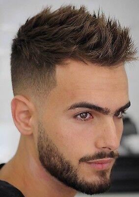 MENS HAIR SALON Print BARBER Shop Poster HAIRDRESSER MAN Hairstyle A5 A4 A3 A2 9