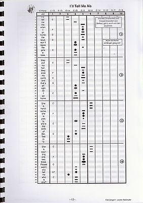 """für Bluesharps /""""Weihnachtslieder Teil II/"""" Mundharmonika-Spielheft OHNE Noten"""