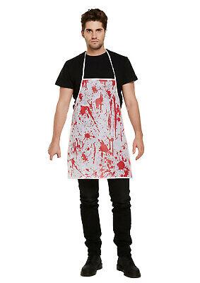 HERREN scary METZGER KOSTÜM Messer Halloween Fasching Karneval ABAV