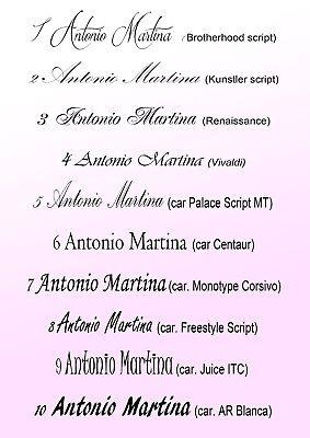 84 Pezzi Ventagli Bianchi Personalizzati Matrimonio Wedding