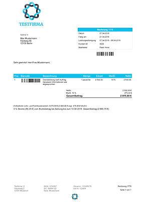 Rechnungsprogramm Mit Ebay Amazon Import Software Vollversion Kostenlos Testen Eur 119 95 Picclick De