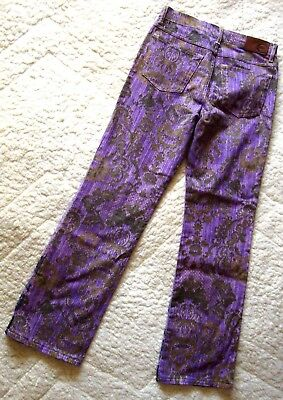TROUSERS woman vintage 90's JUST CAVALLI  tg.29 circa M made Italy  RARE 5