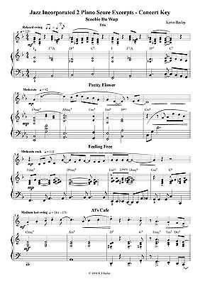 Jazz Incorporated Combo Series That/'s Jazz Sheet Music Chart Kerin Bailey