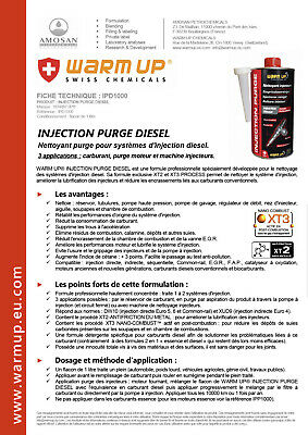 Nettoyant Injecteur Diesel Warm Up 1L Additif Carburant Formule Professionnelle 3