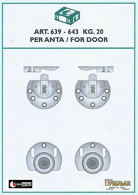 Ante Scorrevoli In Kit.Kit Per Ante Scorrevoli Sovrapposte Terno Art 639 643 Portata