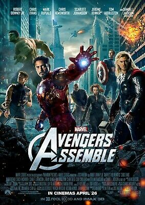 AVENGERS: Endgame, Infinity War, Assemble, Age of Ultron  A5 A4 A3 Movie Posters 2