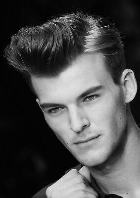 MENS HAIR SALON Print BARBER Shop Poster HAIRDRESSER MAN Hairstyle A5 A4 A3 A2 5