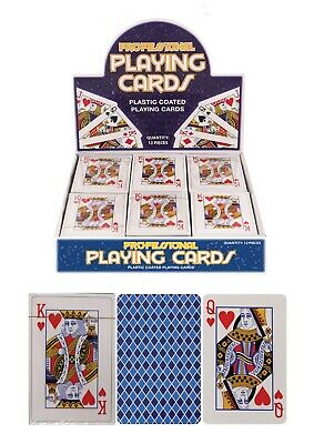 PROFESSIONAL PLASTIC COATED CARDBOARD (laminated) PLAYING CARDS 4