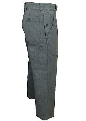 Denim Worker Pants 17Oz True Vintage Hose Trouser Heritage Mechanic Swiss Army
