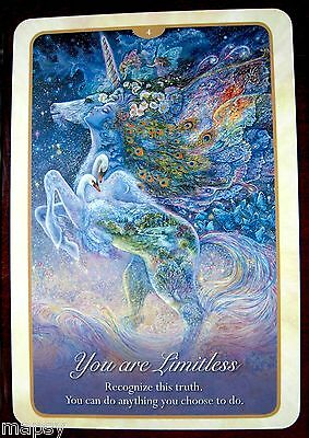 NEW Whispers of Love Oracle Cards Tarot Angela Hartfield Josephine Wall psychic 3