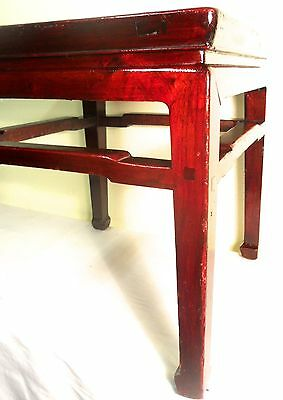 Antique Chinese Ming Meditation Bench/End Table (5315)(Pair), Circa 1800-1849 4