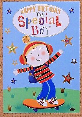 Excellent 6 Pack Of Childrens Boys Kids Birthday Cards Male Childs Birthday Funny Birthday Cards Online Alyptdamsfinfo