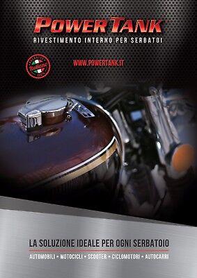 Power Tank ripara serbatoio con ruggine KIT PICCOLO  Più economico di tankerite 5