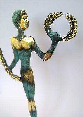 Ancient Greek Bronze Museum Statue Replica Of Olympic Games Winner Collectable 5
