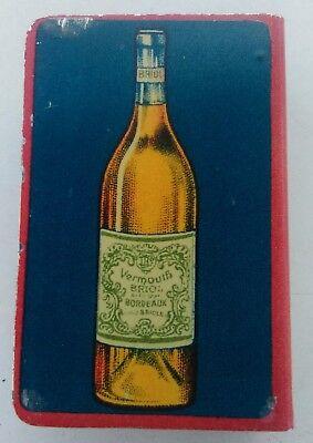 protège boîte allumettes Vermouth Briol en métal lithographié 4