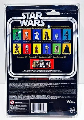 1 Clear Protector For R5-D4 ONLY!  STAR WARS 40TH Anniversary Display Case Box 4