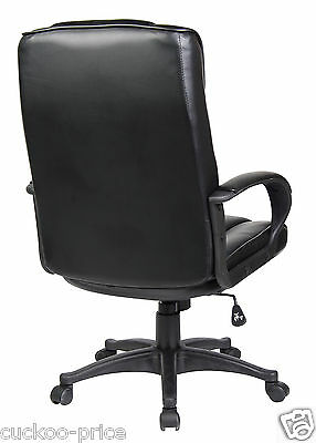 New Swivel Executive Office Furniture Computer Desk Office Chair in PU Leather 2