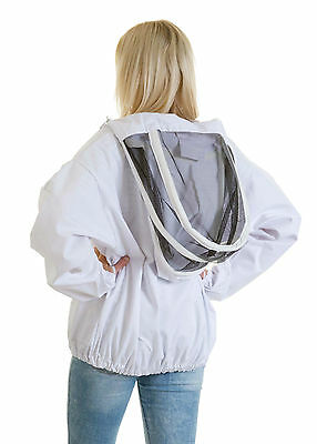 Buzz Beekeepers Bee Jacket/Tunic  (Pullover style with fencing veil) - ALL SIZES 7