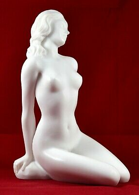 Nude Female Greek Muse Goddess Venus Aphrodite Statue Marble free shipping 2
