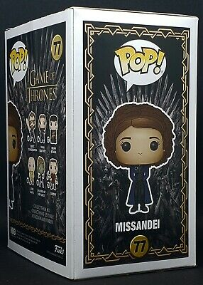Funko Pop + Protector! Game of Thrones #77 - Missandei 2019 NYCC Exclusive MINT 7