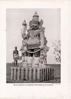 Süd-Indien India Sitten der Völker 1912 orig. Kapitel mit 67 Photodrucken Hindu