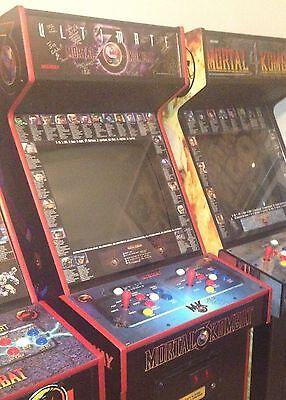 MORTAL KOMBAT 3 Arcade Moves List Bezel Panel Artwork Art CPO Midway MK3  Midway