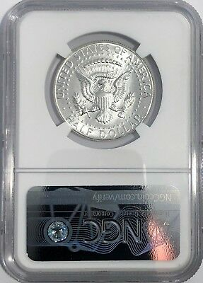 1964 P Ngc Ms64 Silver Kennedy Half Dollar First Year Issue Jfk Coin Signature 2