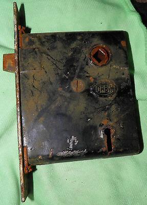 Antique Eastlake Brass Door Knobs Orbin Hardware Locksets Victorian BIN Save $$ 5