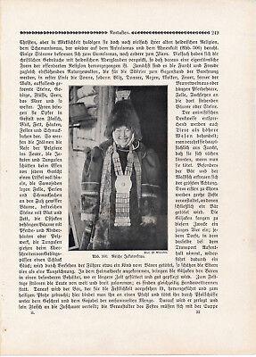 Siberia Russia Sitten der Völker 1912 orig. Kapitel 21 Photodrucke Samojeden