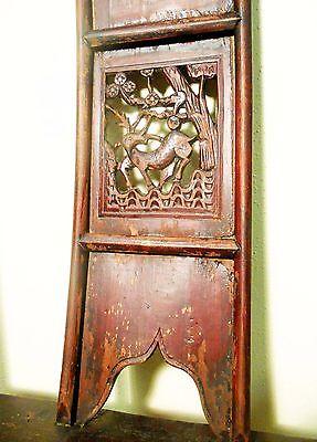 Antique Chinese High Back Chairs (Pair) (5742), Circa 1800-1849 3