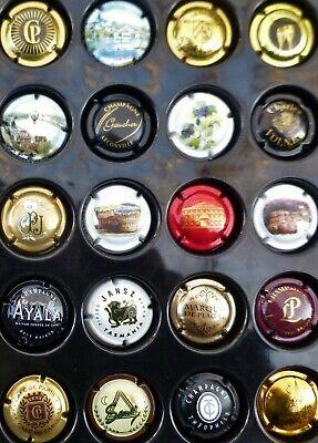 16 CAPSULES de CHAMPAGNE FRANCE REIMS toutes différentes VIN Vigne MUSELET Lot 5