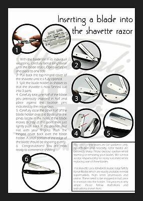 Wooden Barber Salon Straight Cut Throat Shaving Razor Rasoirs Rasoi With Blades 7