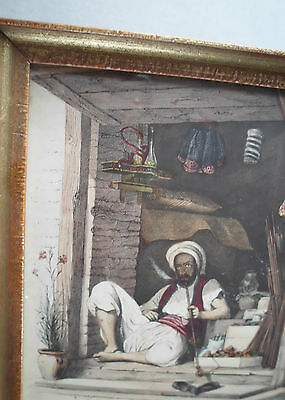 Antique Original Colored - Oriental Gravure by De GHOUY - 1840 9