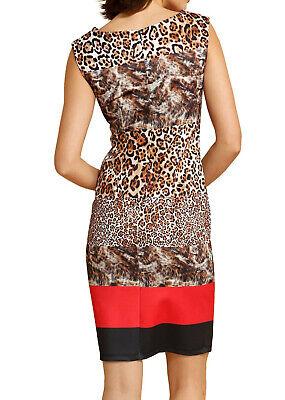 KP 99,95 € SALE/%/%/% Alba Moda Jerseykleid schwarz bedruckt NEU!!