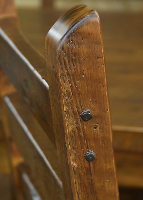 """20  Antique (1800's)  Real Wrought Iron Square 4.5"""" Long Nails 7"""