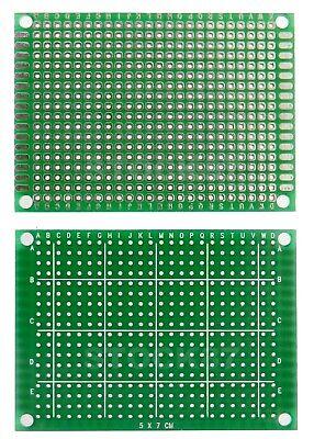 923B# 1 à 10 pcs  plaque d'essais à pastille format 5x7 cm   -- breadboard PCB 2