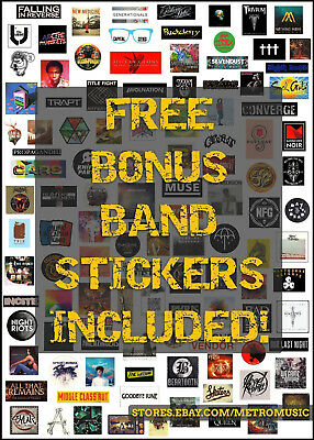 ANIMAL COLLECTIVE Centipede Hz Ltd Ed RARE Sticker +FREE Rock Alt Indie Stickers 3