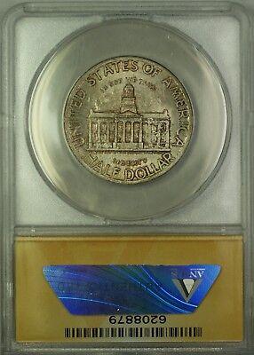 1946 Iowa Commemorative Silver Half Dollar 50c Coin ANACS MS-66 Toned GEM BU 2