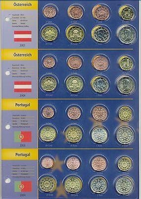 Gavia Euro Münzen Sammel Album 2003 2004 14 Staaten Mit