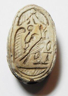 Zurqieh -As10290- Ancient Egypt, Stone Scarab . New Kingdom. 1300 B.c 2